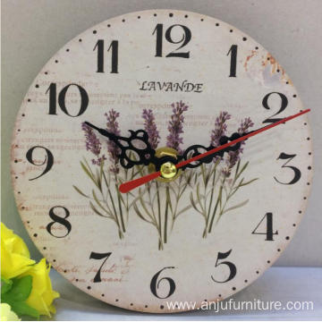 Handmade Wooden Crafts antique Wall Clock